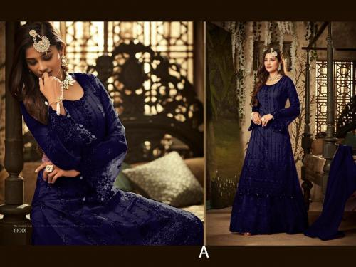Mohini Fashion Glamour 61001 C Blue