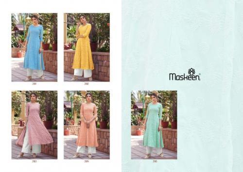 Maisha Maskeen Lucknowi 3181-3185 Price - 7375
