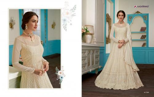 Aashirwad Creation Gulkand Anushka 7089 Price - 2495