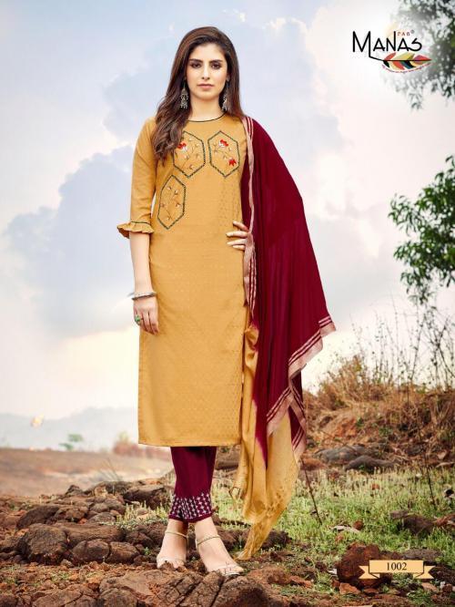 Manas Fab Kaara 1002 Price - 825