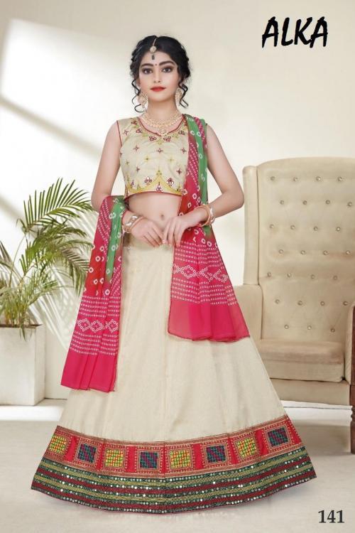 Alka Children Wear Navratri Collection 141 Price - 1549