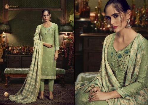 Sadhana Fashion Burberry 9525 Price - 750