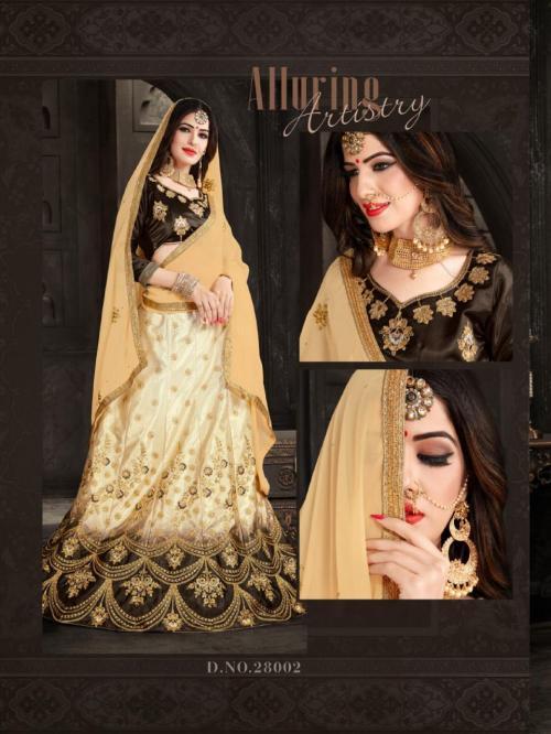 Natraj Lehenga Aashana 28002 Price - 1400