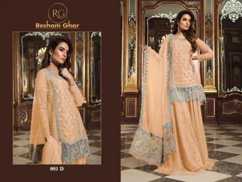 Resham Ghar Maria B 001 D Price - 1499