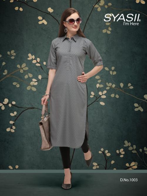 Syasii Designers Classic 1003 Price - 375