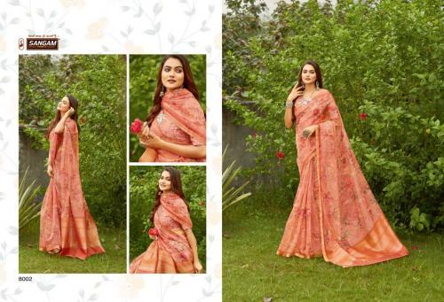 Sangam Prints Nupur 8002 Price - 1480
