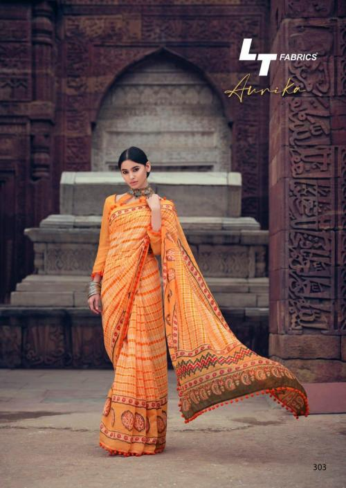 Lt Fabrics Nitya Aurika 303 Price - 570