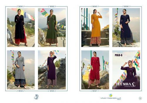 Vinay Fashion Tumbaa Polo 38581-38587 Price - 6230