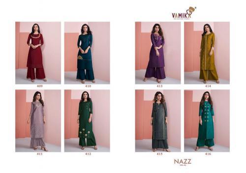 Arihant Designer Vamika Nazz 409-416 Price - 6760