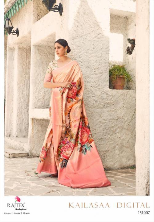 Rajtex Saree Kailasaa Digital 151007 Price - 1460