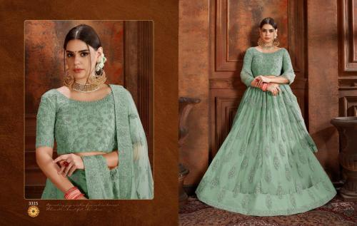 Arya Designs Cinderella 3315 Price - 5580