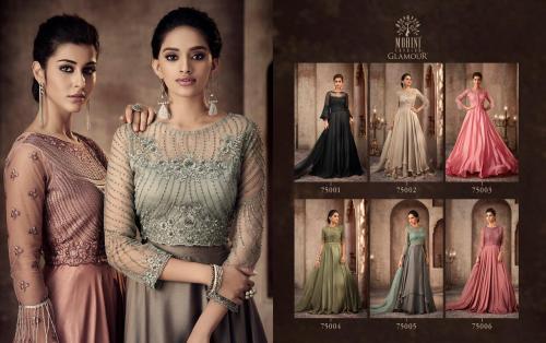 Mohini Fashion Glamour 75001-75006 Price - SemiStiched- 13770 , Readymade Stitched , 16170