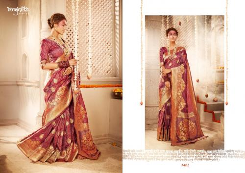 Manjolika Fashion Mira Silk 3402 Price - 1595