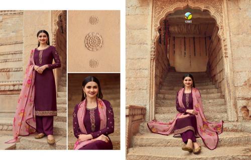 Vinay Fashion Silkina Royal Crepe 13565 Price - 1090