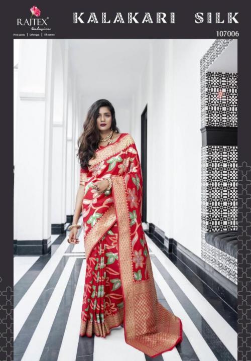 Rajtex Saree Kalakari Silk 107006 Price - 3035