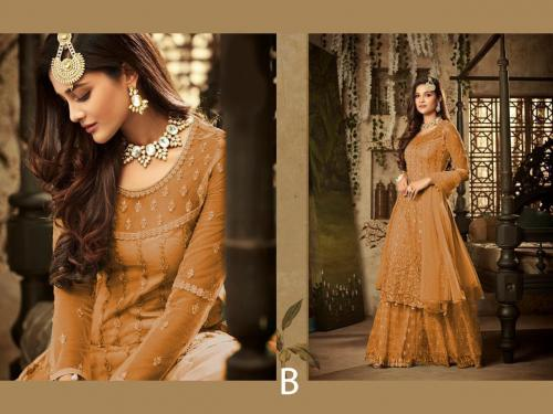 Mohini Fashion Glamour 61004 B Orange