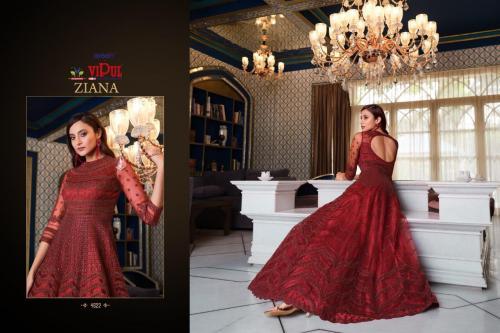 Vipul Fashion Ziana 4622 Price - 3834