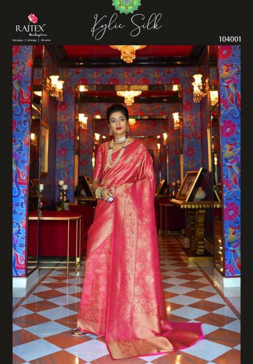 Rajtex Saree Kylie Silk 104001-104006 Series