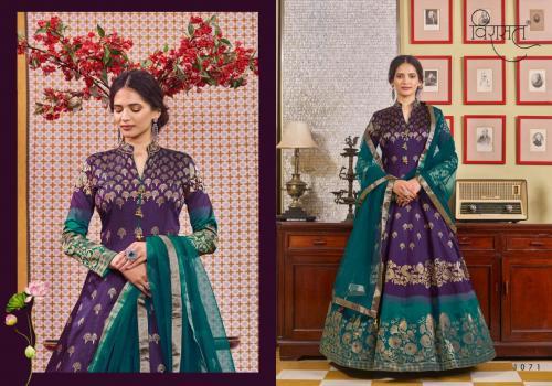 Virasat Gowns Muskan 1071 Price - 3615