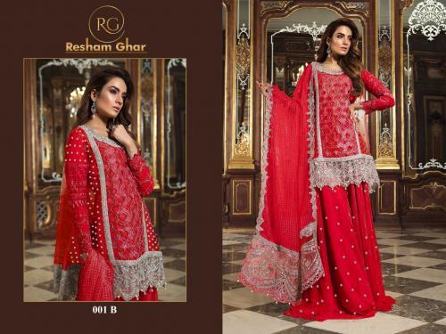 Resham Ghar Maria B 001 B Price - 1499