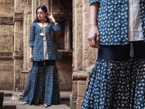 Mesmora Fashion Sharara Set S2
