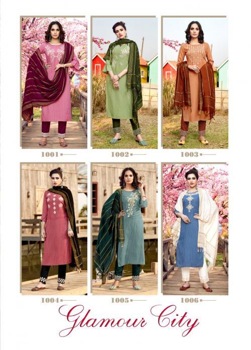 Manas Fab Glamour City 1001-1006 Price - 5694