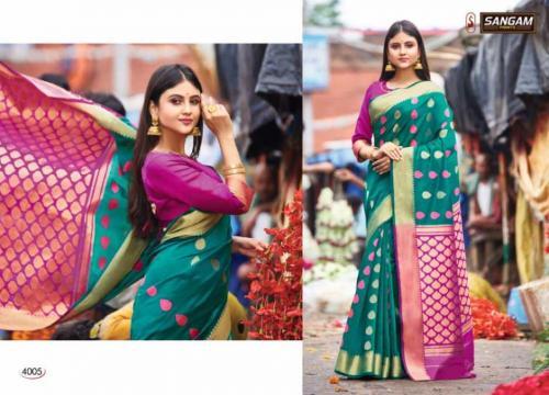 Sangam Prints Aaradhya Handloom 4005 Price - 1125