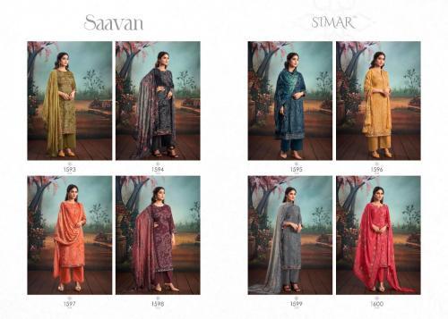 Glossy Simar Saavan 1593-1600 Price - 13560