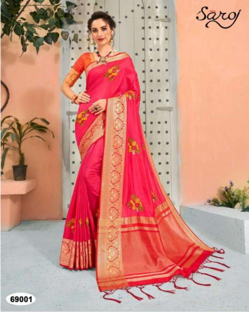 Saroj Saree Shamiyana Silk 69001-69004 Series