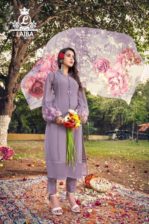 Laiba The Designer Studio Am Vol-73 Colors