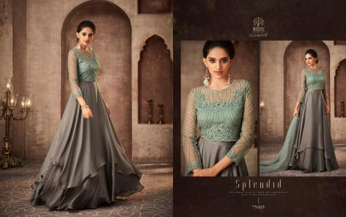 Mohini Fashion Glamour 75005 Price - SemiStiched- 2495 , Readymade Stitched , 2895
