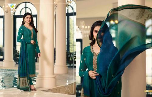 Vinay Fashion Silkina Royal Crape 24 9961-9970 Series
