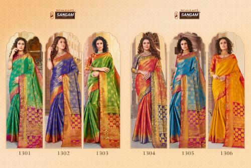 Sangam Prints Vijay-laxmi Silk 1301-1306 Price - 6570