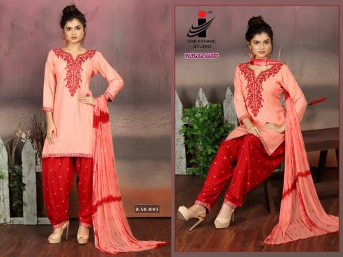 The Ethnic Studio Patiyala Babes 1005 Price - 725