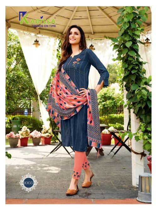 Karissa Trendz Bombay Beauty 1003 Price - 1105