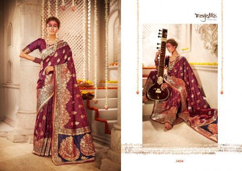 Manjolika Fashion Mira Silk 3404 Price - 1595