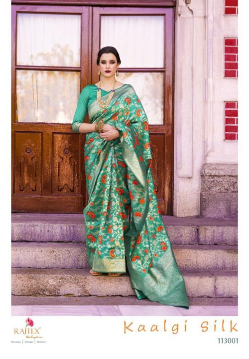 Rajtex Saree Kaalgi Silk 113001 Price - 1560