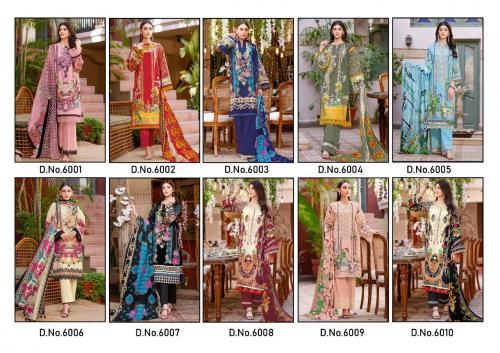 Nafisa Cotton Monsoon 6001-6010 Price - 3990