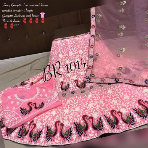BR Lehenga Choli BR-1014-K Price - 2095