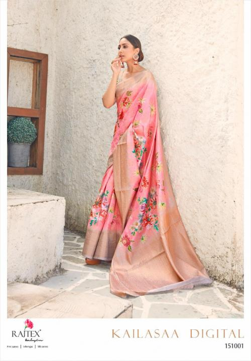 Rajtex Saree Kailasaa Digital 151001 Price - 1460