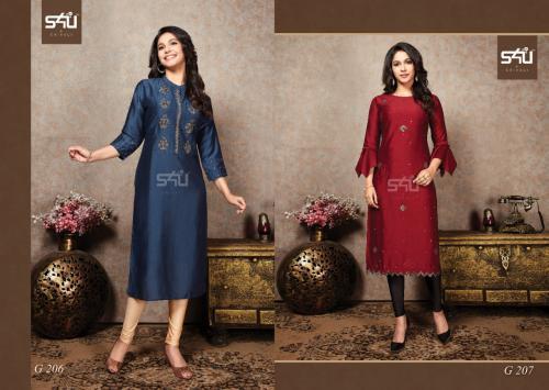 S4U Shivali Glamour 206-207 Price - 1750