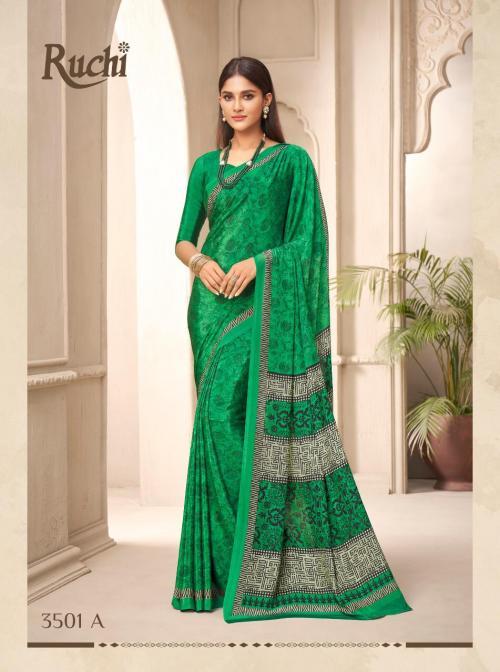 Ruchi Saree Alvira Silk 3501-3506 Series