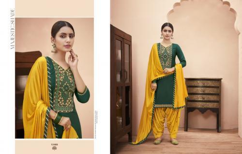 Kajree Kalaroop Rich Patiyala 12485-12494 Series