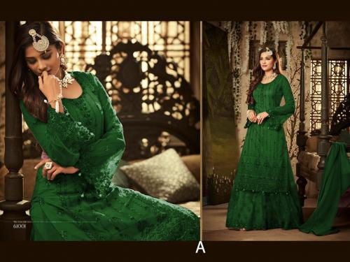 Mohini Fashion Glamour 61001 D Green