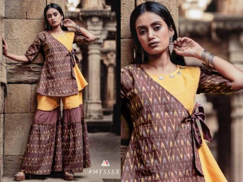 Mesmora Fashion Sharara Set S3