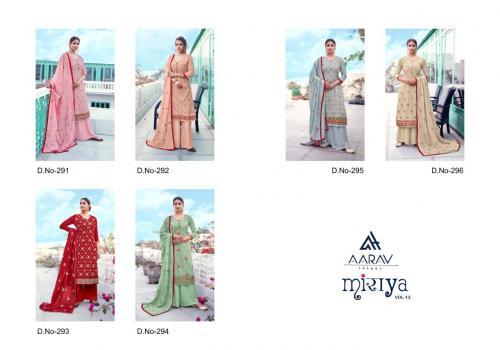 Aarav Trendz Miraya 291-296 Price - 8994