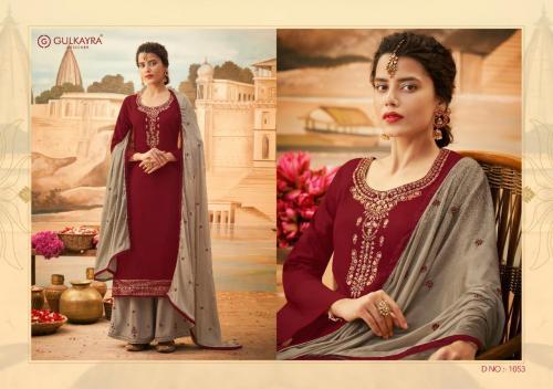 Aashirwad Creation Gulkayra Designer Lotus 1053 Price - 1275
