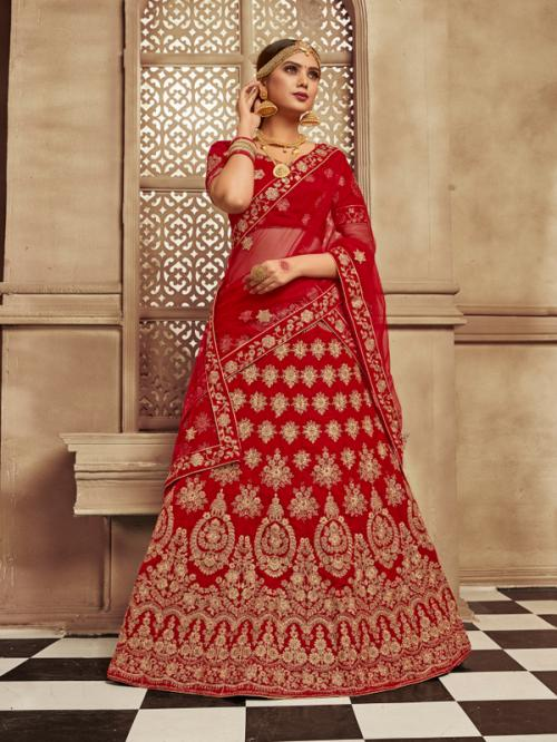 Asisa Bridal Lehenga 6005 Price - 3764