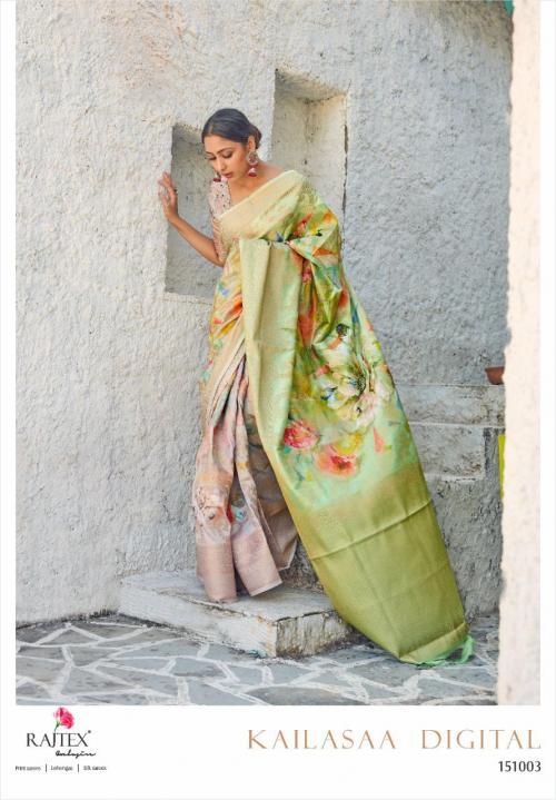 Rajtex Saree Kailasaa Digital 151003 Price - 1460
