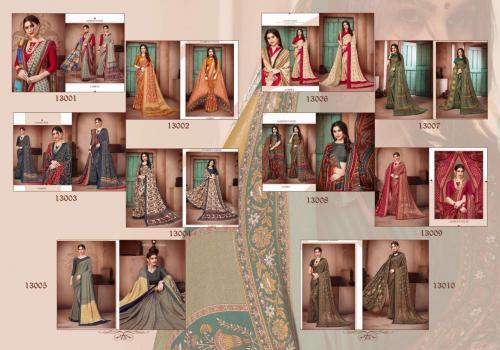 Silkvilla Pashmina 13001-13010 Price - 8750